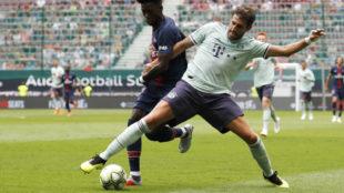 Bayern midfielder Javi Martinez