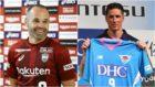 Iniesta y Torres, preparados para debutar con sus equipos japoneses