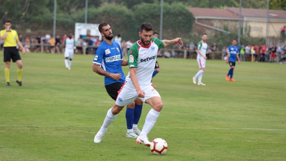 El Logroñés se llevó el choque frente al Alavés en penaltis