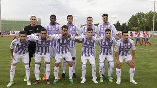 El 11 del Valladolid en la primera mitad.