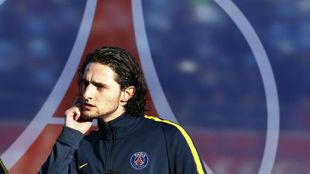 French midfielder Adrien Rabiot.