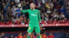 Barcelona's Dutch goalkeeper Jasper Cillessen.