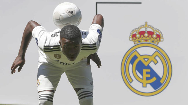 Vinicius Junior is set to stay at Real Madrid for the 2018/19 season.