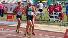 Álvaro Martín, campeón de España de los 10.000 metros marcha