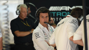 Toto Wolff, jefe del equipo Mercedes