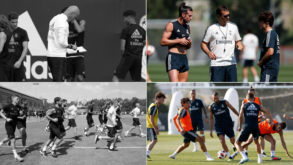 Differences between Zidane and Lopetegui