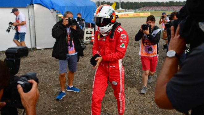 Vettel, tras el K.O.