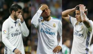 Morata, Kovacic and James Rodriguez.