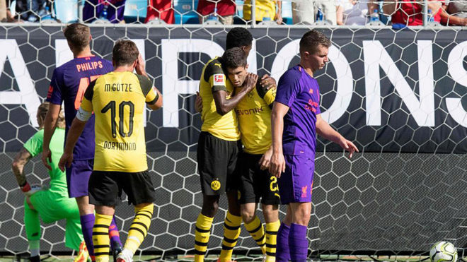 Pulisic swap as Dortmund ace rocks Liverpool