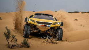 Hunt (Peugeot), nuevo líder del Silk Way Rally