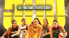 Sue Bird, 500 veces leyenda en la WNBA