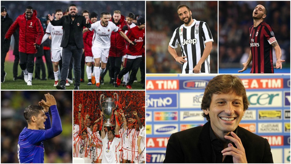 Italy Serie A Milan S Plan To Return To Champions League Football
