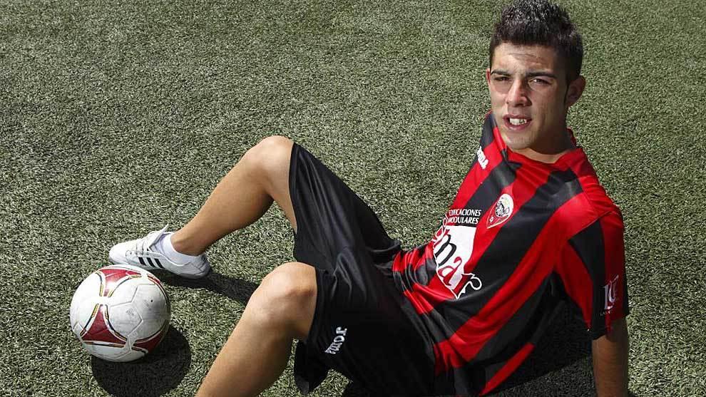 Luis Rioja posó para MARCA hace cinco años cuando fichó por el Real...