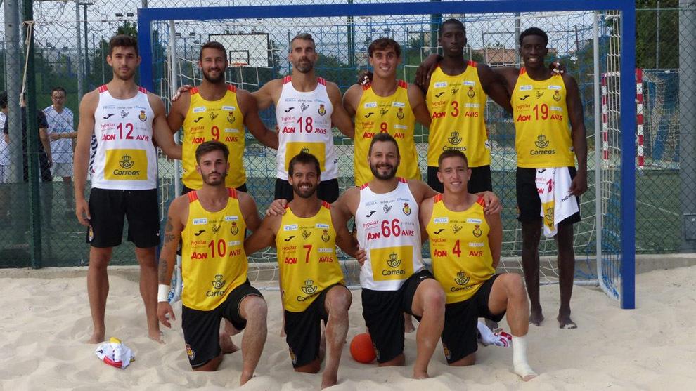 La selección española masculina en Alcalá de Henares
