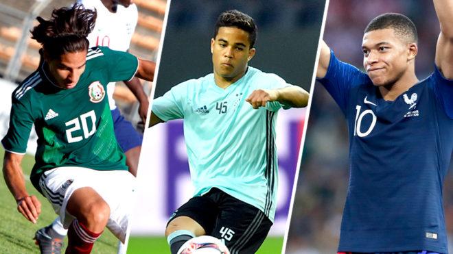 Varios jugadores ya destacan en sus clubes y en su selección.