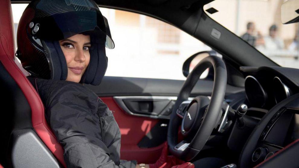 Aseel Al-Hamad, primera mujer saudí en pilotar un Fórmula 1