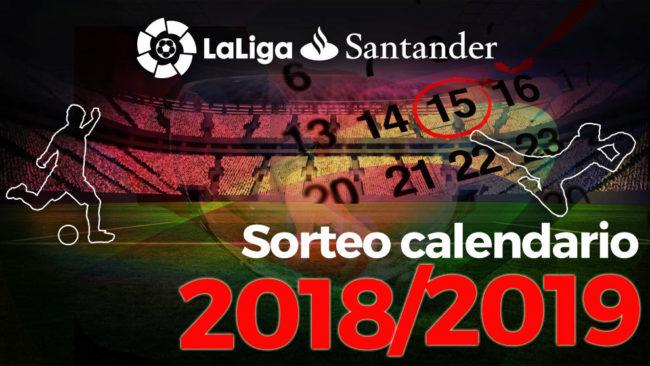 Sorteo del Calendario de Liga 2018 19 - LaLiga Santander y Liga 123