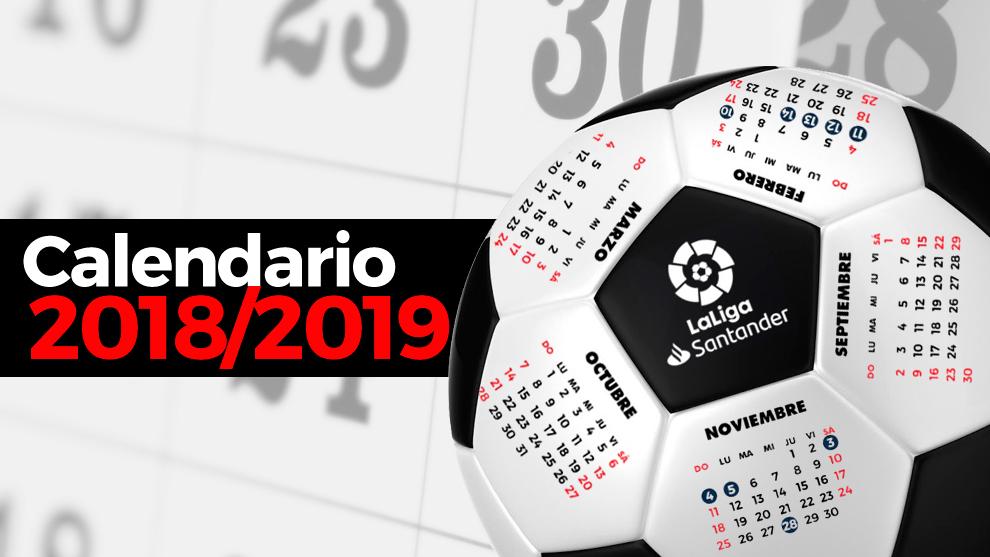 Liga Bbva Calendario Y Resultados.Calendario Liga Santander 2019 2020 Primera Division Partidos