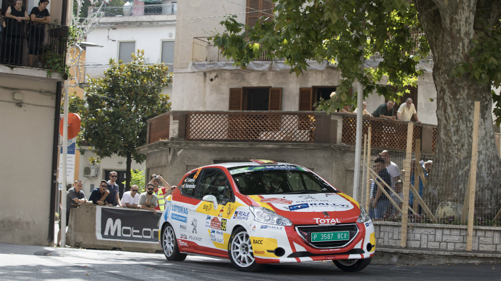 El piloto del Rally Team Spain regresó al podio en Roma.