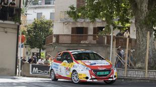 El piloto del Rally Team Spain regresó al podio en Roma.