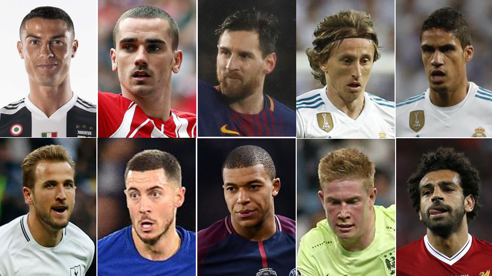 'The Best' FIFA 2018 possible candidates