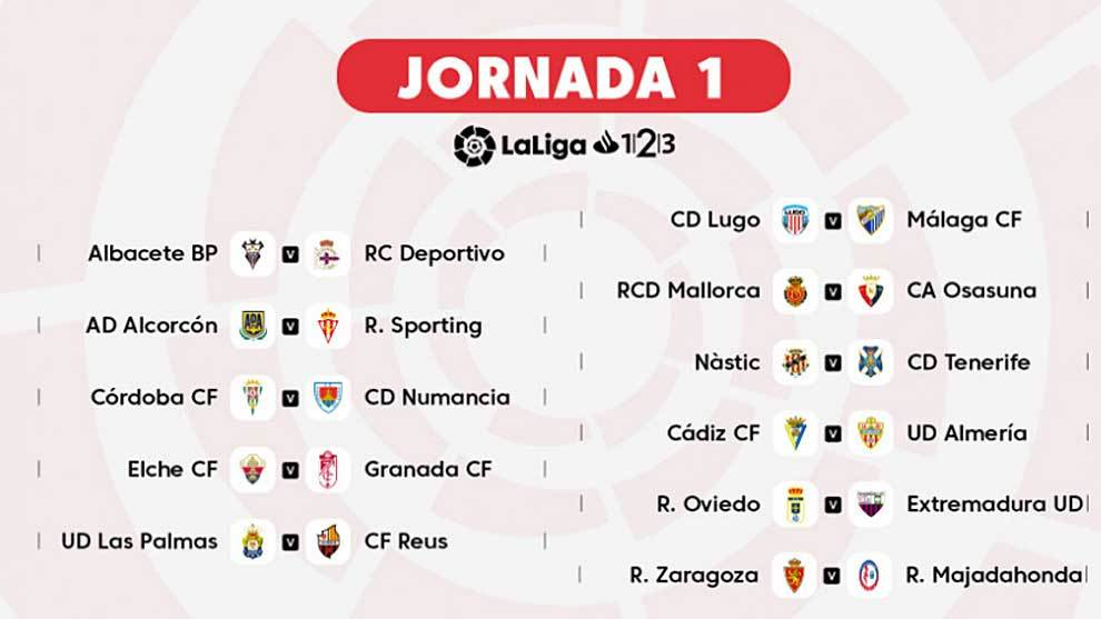 As Calendario Liga 123.Liga 123 Once Partidazos Para Abrir La Segunda Division