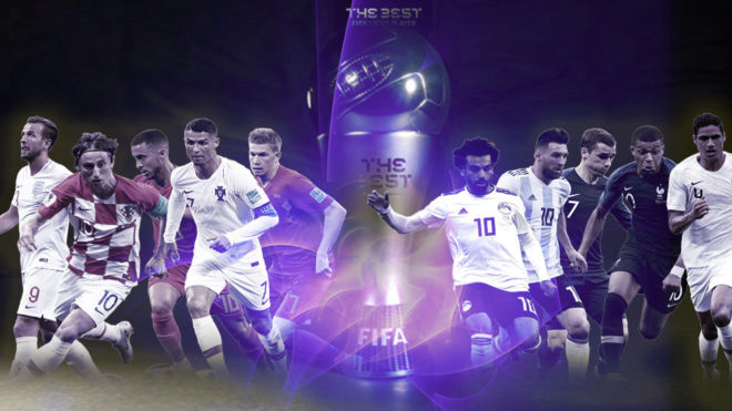 FIFA's The Best award 2018 candidates