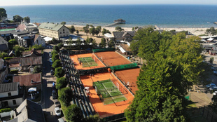 En Bastad Tennis Center, anfitrión ahora del World Pádel Tour