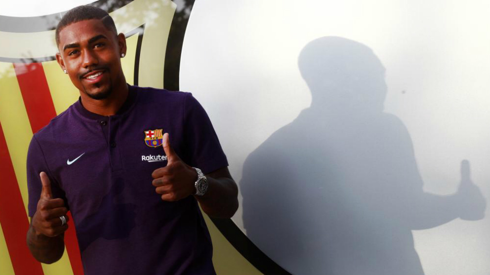 Malcom, signed; the player is on his way Barcelona