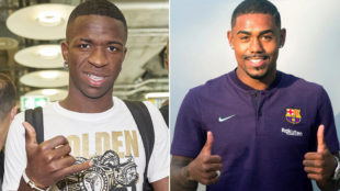 Vinicius welcomes Malcom: Brothers ruling the world!