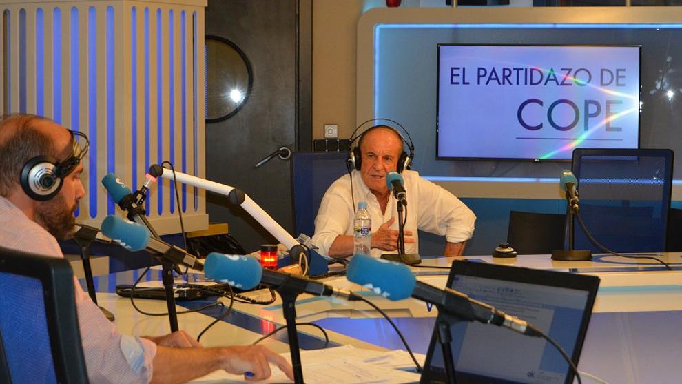 José María García, en su entrevista en Cope