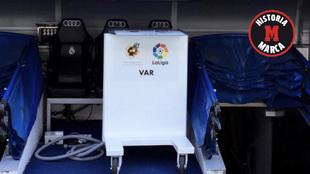 El VAR en el Bernabéu este miércoles