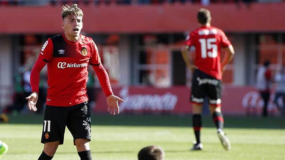Brandon Thomas, en un partido de hace dos temporadas en Mallorca