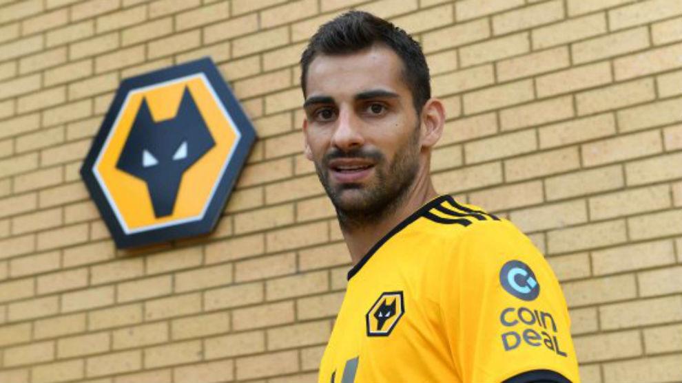 Jonny, con la camiseta del Wolverhampton