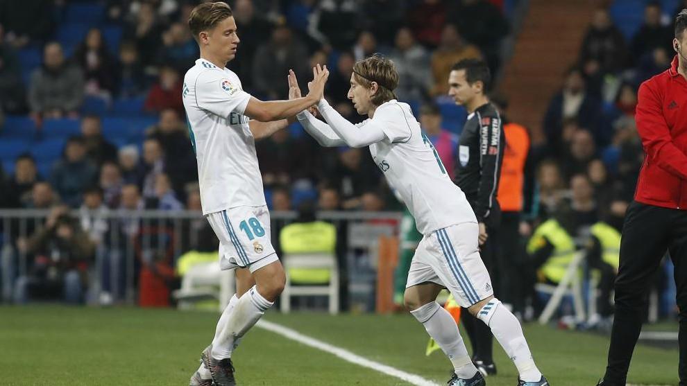 Modric replaces Llorente in a Copa del Rey game against Leganes