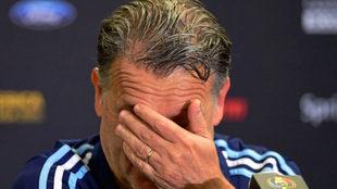 Martino, en una imagen de archivo en su etapa como seleccionador de...