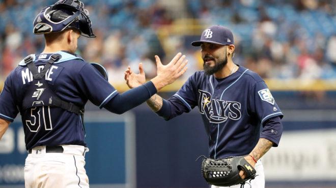 Rays de Tampa Bay  triunfaron sobre los Yankees de Nueva York.