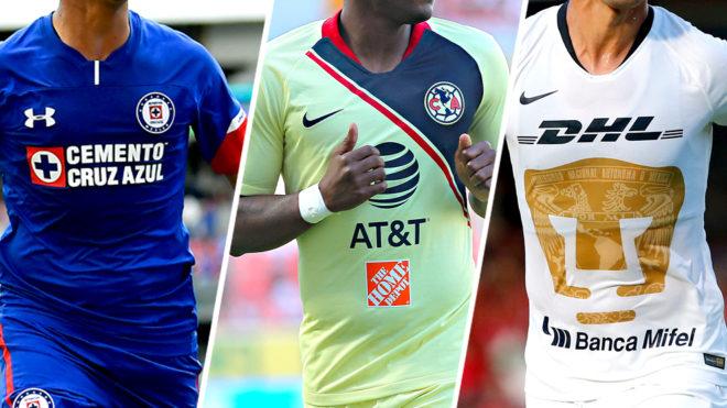 aafefe0e94aa4 Liga MX Apertura 2018  ¿Cuánto cuestan las camisetas de los equipos ...