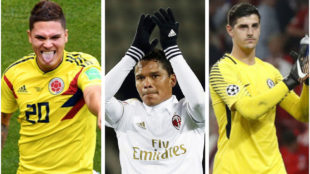 Transfer Market LIVE: Quintero to Madrid? Courtois deal close? Bacca on the move?