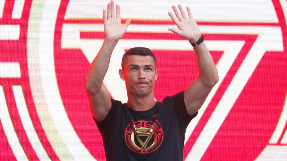 Cristiano Ronaldo en una imagen ya como jugador de la Juventus.