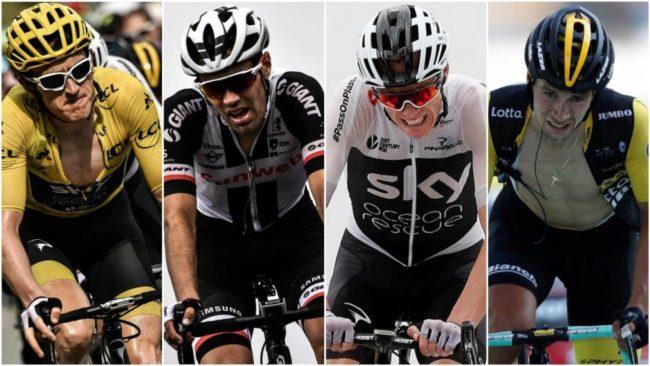 Thomas, Dumoulin, Froome y Roglic se juegan el Tour de Francia.