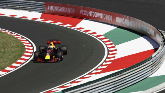 La carrera del GP de Hungría 2018 de F1 comenzará el domingo a las...