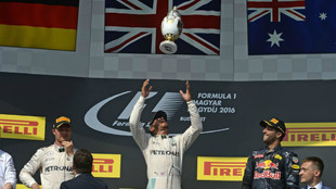 Lewis Hamilton en 2016.