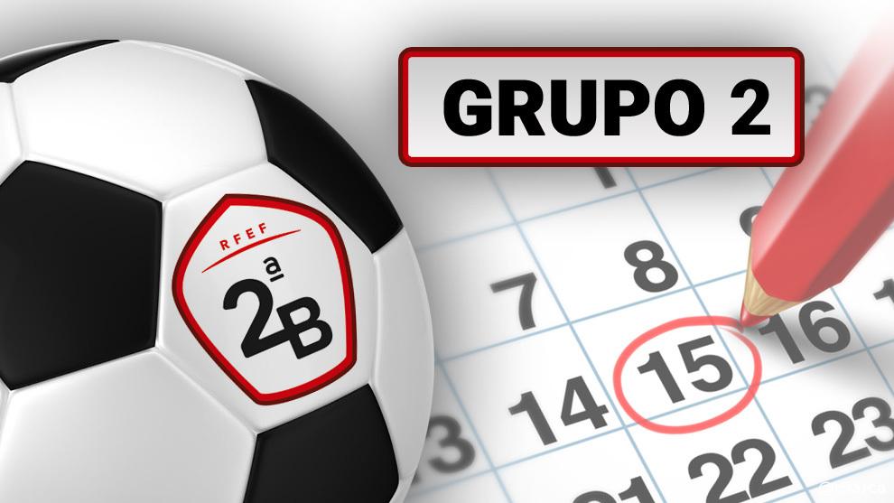Calendario Segunda B.Calendario Completo Del Grupo 2 De Segunda B Marca Com
