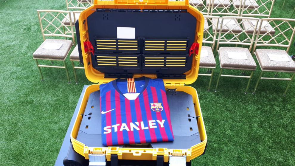 La camiseta que llevará el Barça Femenino a partir de ahora.