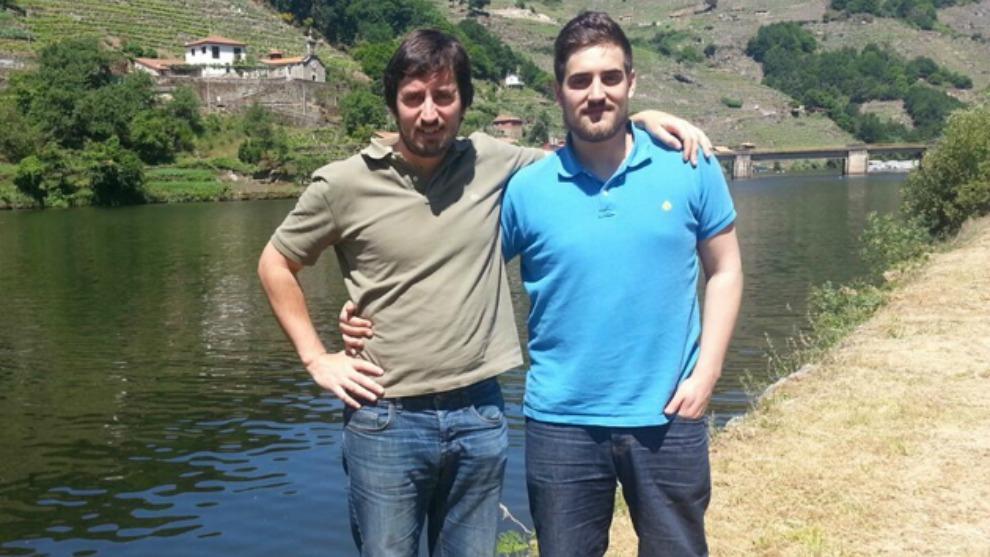 Los hermanos lucenses Miguel y Roberto Vázquez realizaron una apuesta...