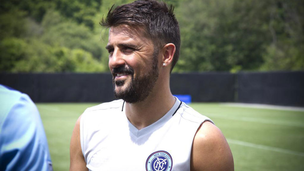 What's wrong with David Villa?