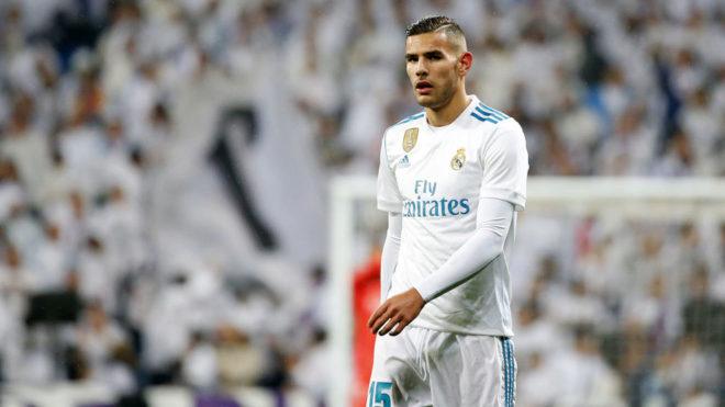 Real Madrid defender Theo Hernandez