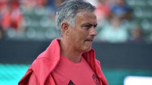 Mourinho tras la derrota ante el Liverpool