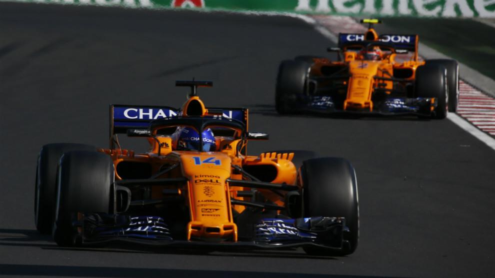 Alonso, seguido de Vandoorne